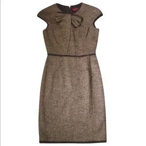 Carolina Herrera wool mid-length formal dress